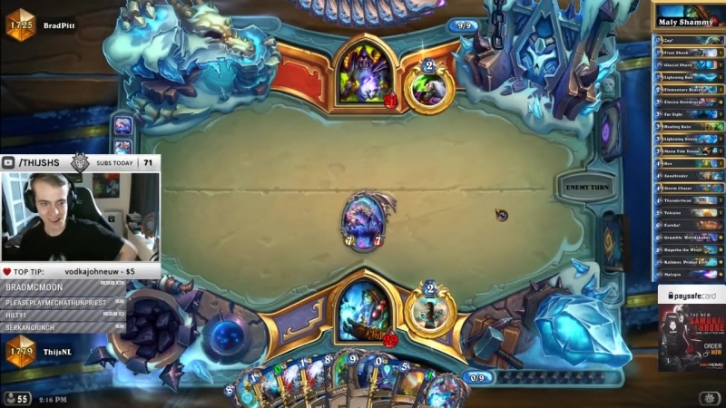 [Thijs Hearthstone] 6 Mana For 10 Spell Damage? Yikes!