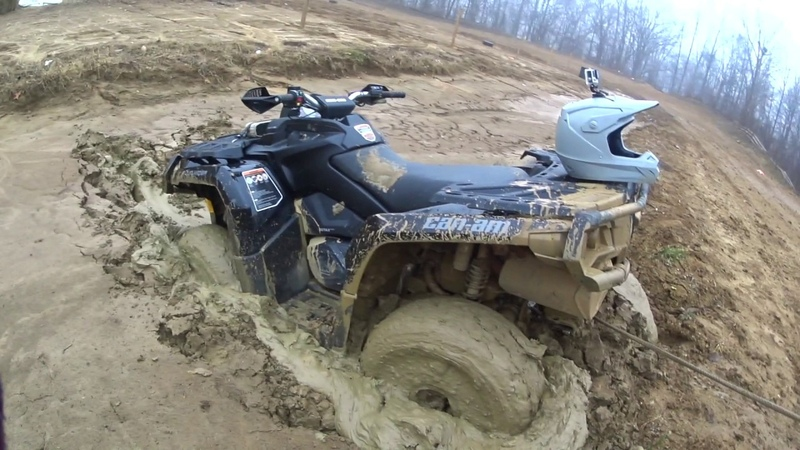 '17 Can Am Outlander 850 XTP Planted