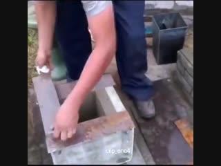 Самоделка для имитации под кирпич