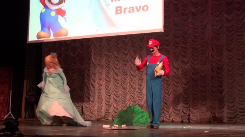 Сценка 6-Super Mario Galaxy-Женская Логика-Firax.Menica Bravo