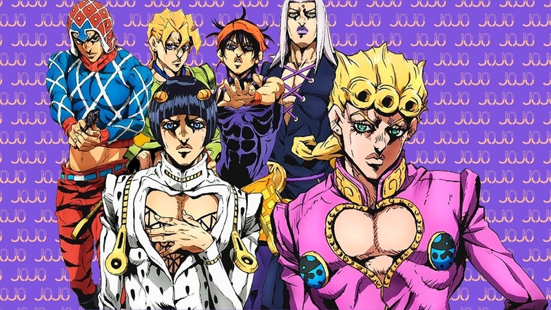 JoJo's Bizarre Adventure Part 5: Golden Wind - All Main Characters PV's Compilation『ENG SUBS』