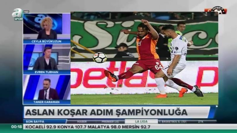 Akhisarspor 1-2 Galatasaray Enver Turhan ve Taner Kahraman Yorumları