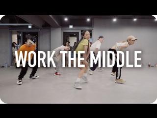 1Million dance studio Work The Middle - Alex Aiono / Redlic Han Choreography