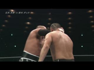 Tomohiro Ishii, Toru Yano vs. Minoru Suzuki, Zack Sabre Jr. (NJPW - Dominion 6.9 In Osaka-Jo Hall)