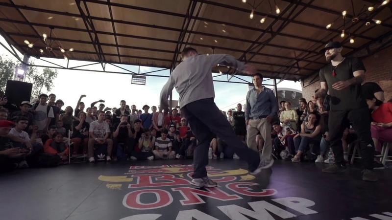 Red Bull BC One Camp Kazakhstan | Exhibition Battle: Killa Kolya Shadr vs. Victor Thesis
