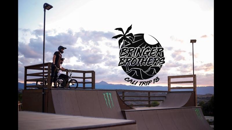 CALIFORNIA BMX TRIP 2018 : BRINGER BROTHERS insidebmx
