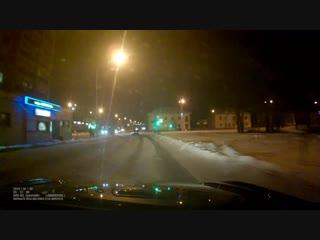 ДТП на перекрестке ул. Комарова - Островского, Туймазы 02.01.2019