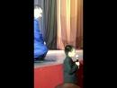 Выступление мальчика на ДР компании Сухба