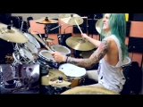 Kyle Brian - DragonForce - Through The Fire and Flames (Drum Cover)