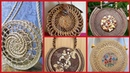 Gorgeous open work round basket and wicker round bags/French baskets styles