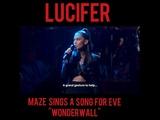 Lucifer - Maze covers Wonderwall