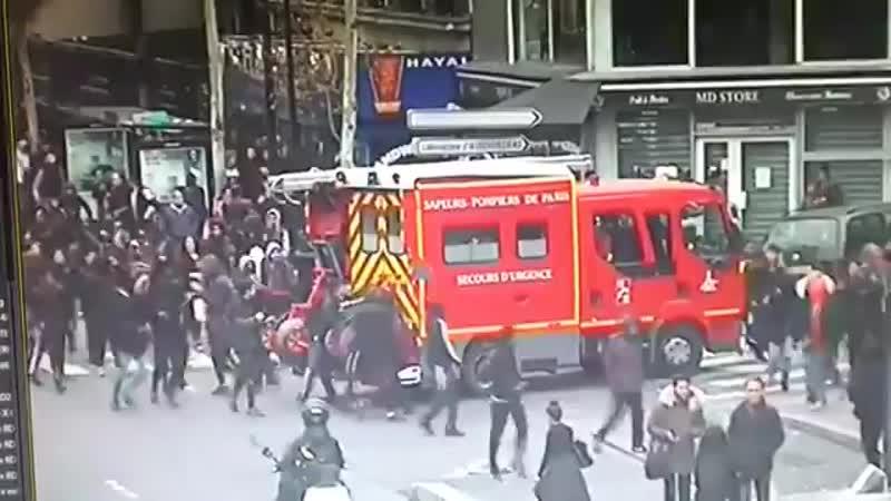 Aubervilliers La racaille attaque les pompiers