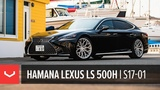 2018 Lexus LS 500h F Sport  Vossen Forged S17-01 Wheels  Hamana Japan