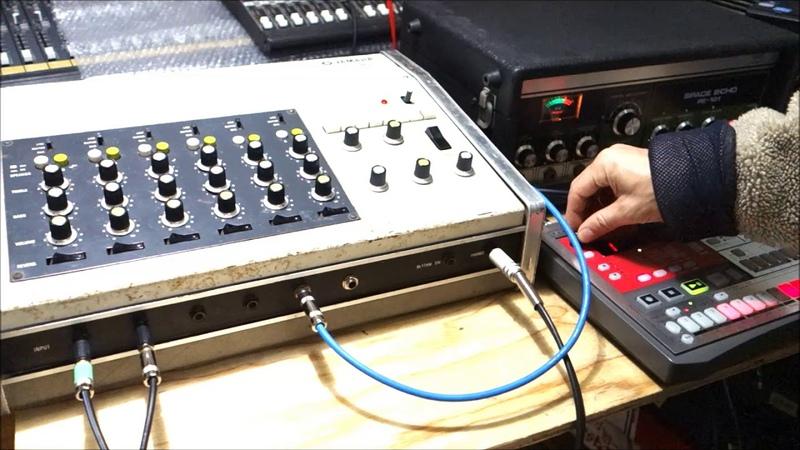 Yamaha EM-90 Analog Drum Machine Mixer w/ Spring Reverb 70's Vintage test