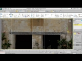 Modeling Facades in 3ds Max - Part 3 - Defining Irregular Areas