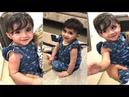خلود الصغيرة تقلد ضحكة دكتوره خلود لأول مرة بعد عودتها من لبنان 😍
