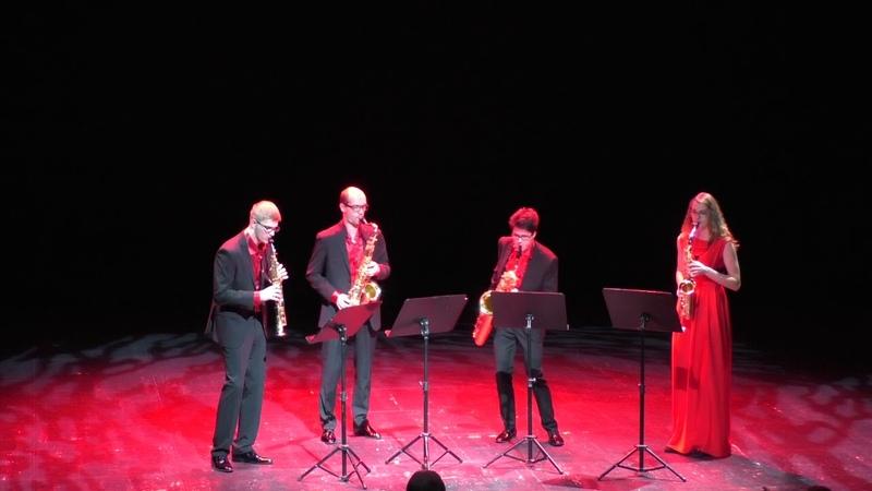 Ad Libitum Saxophone Quartet Por una cabeza