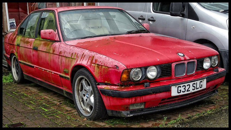 Abandoned BMW cars around the world. Amazing abandoned vehicles