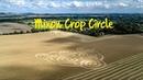 Mixon Crop Circle nr Etchilhampton Wiltshire 4K