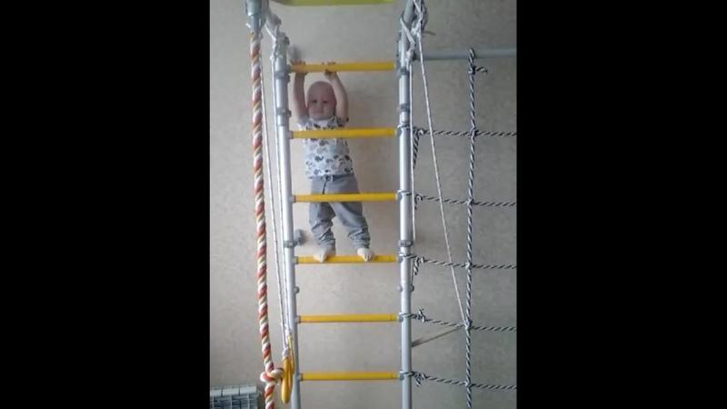 Видеоотзыв о детской шведской стенке СПОРТиЯ_480p