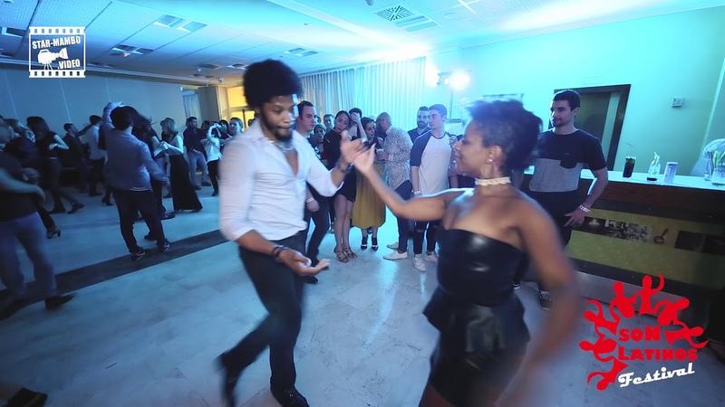 Terry SalsAlianza Cecile - social dancing @ IX Son Latinos Festival Gijon