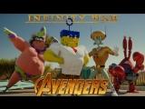 Avengers. Infinity War. Trailer. AMV. SpongeBob SquarePants