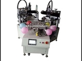 how to operate the Automatic balloon screen printing machine,how to use the balloon printer