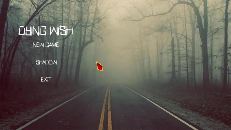 Бета версия меню Dying wish