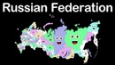 Russia/Russian Federation/ 85 Russian Federal Subjects/Russia Geography