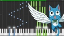 Fairy Tail Opening 9 Towa No Kizuna フェアリーテイルオープニング9「東和の絆」(Piano-Tutorial Synthesia)