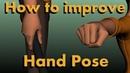 Animation tutorial: hand pose (maya 2018)