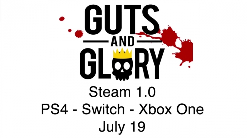 Guts Glory Console Teaser - PS4, Switch, Xbox One, PC on July 19th