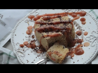 Магкейк в микроволновке из смеси NEWA Protein Cupcake MIX