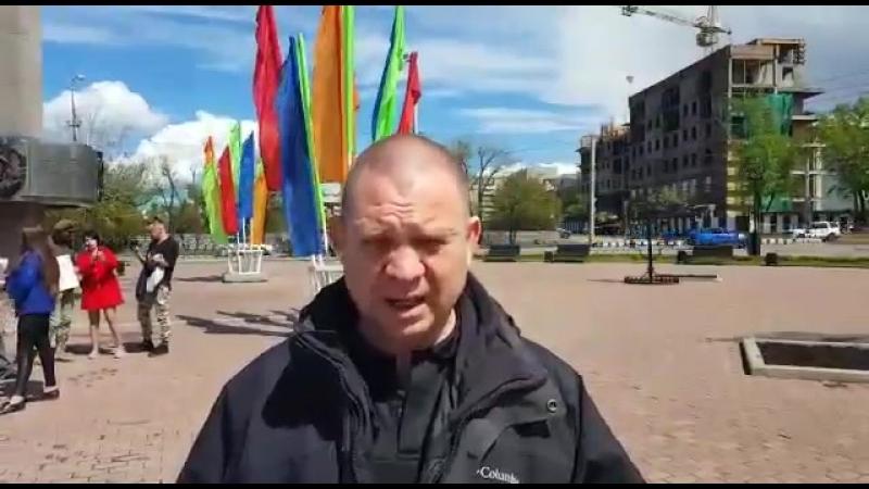 Пикет в защиту полковника Квачкова, участников ИГПР ЗОВ, находящихся в заключении
