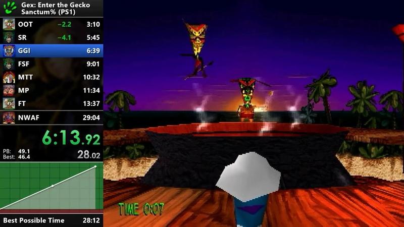 Gex: Enter the Gecko - Sanctum% Speedrun - 28:58 [WR]
