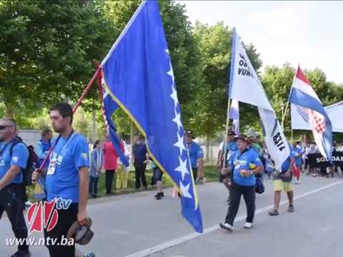 HOS :Ultramaraton Srebrenica -Odžak - Vukovar