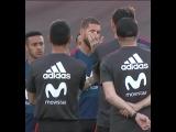 Сборная Испании встречает нового главного тренера