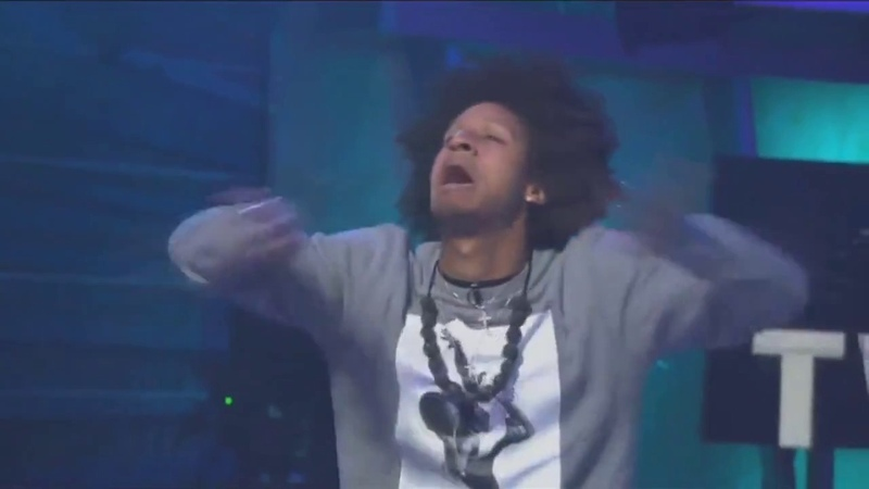 Full Day with LES TWINS on TV FOX EMMY in LA Performance interview 2017