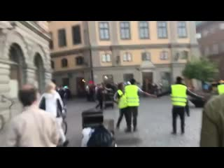 _Sweden When Swedish citizens are trying to reclaim their country and their city of Stockholm from the illegal invaders! by bloc