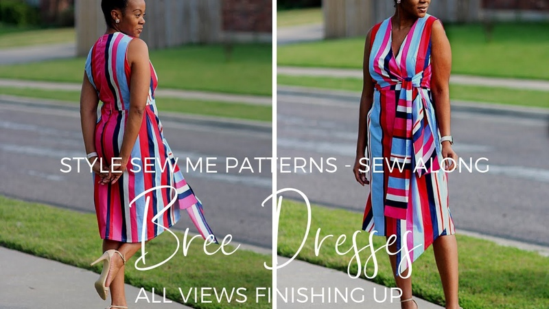 Bree ABC Joining Bodice to Skirt and Zipper Finishing Sew Along