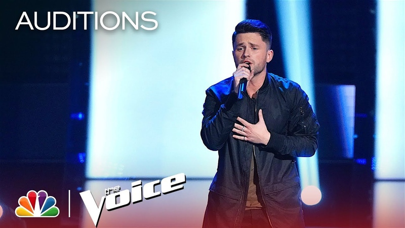 Josh Davis Impresses Kelly with Sam Smith's Too Good at Goodbyes- The Voice 2018 Blind Auditions