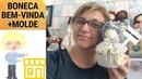 BONECA DE BEM-VINDA AO MEU ATELIER E MATRÍCULAS ABERTAS MAGIA DE PANO