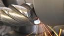 Заточка концевых фрез по торцу на самодельном заточном станке
