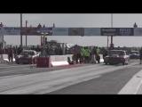 Larry Baker vs Dixieland blown Corvette at Red 13 no prep