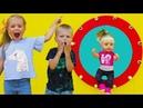 Играем в Куклы. НЕПОСЛУШНАЯ КУКЛА БЕБИ БОН МОЛЛИ убежала на ДЕТСКУЮ ПЛОЩАДКУ. Видео для детей