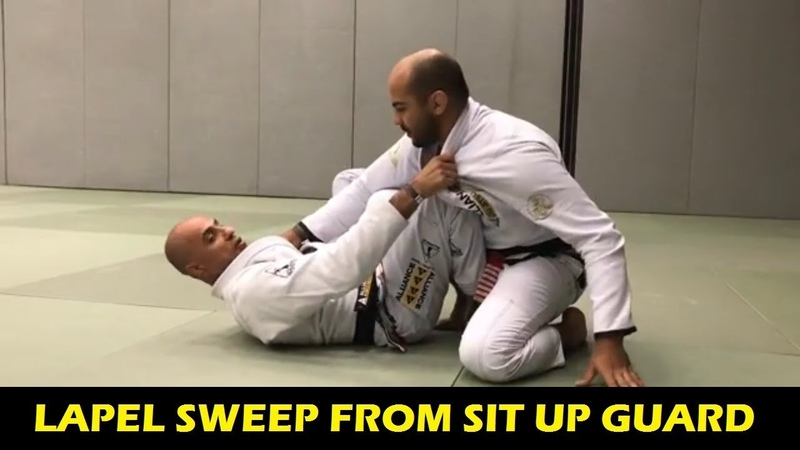 Lapel Sweep From Sit Up Guard by Alexandre Gigi Paiva