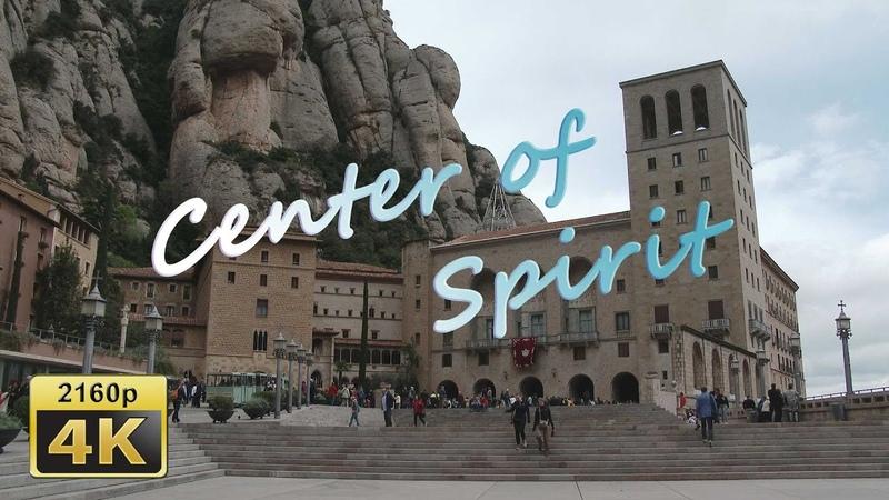 Монсеррат, Каталония, Ипания / Montserrat, Catalonia, Spain. 4K Travel Channel
