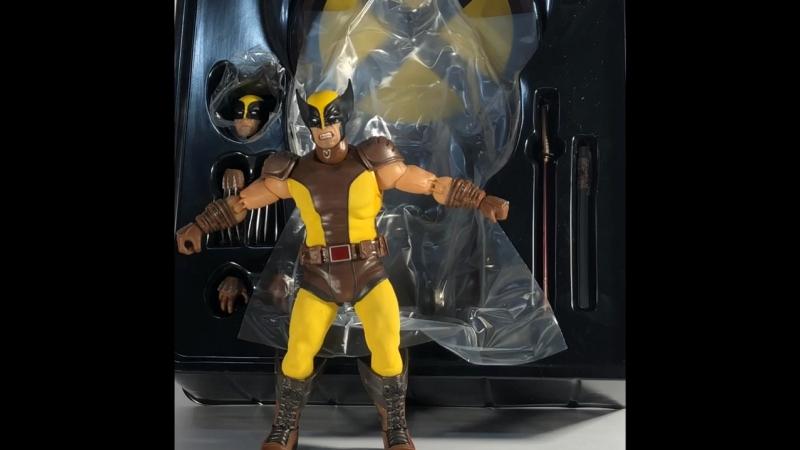 Обзор на фигурку Wolverine от MezcoToys