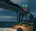 Simon Stalenhag - Incident On The Edge Of Town (The Alan Parsons Project)