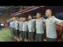 Polski hymn przed meczem z Kolumbii na Mistrzostwo Świata 2018 w Rosji